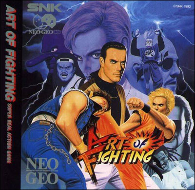 Art of Fighting Neo Geo CD