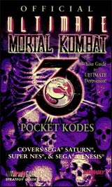 Ultimate Mortal Kombat 3 Official Pocket Kodes