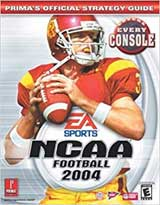 NCAA Football 2004 Official Strategy Guide Book