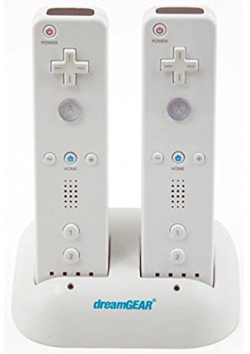 Nintendo Wii Charging Dock with 2 Batteries