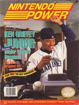 Nintendo Power Magazine Volume 59 Ken Griffey Junior Major League Baseball