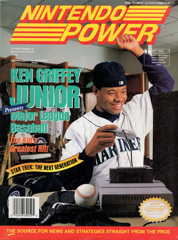 Nintendo Power Magazine Volume 59 Ken Griffey Junior Major League Baseball