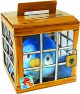 Angry Birds Rio Caged Green Bird Plush