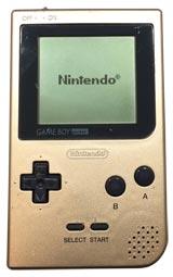 Nintendo Game Boy Pocket System Gold