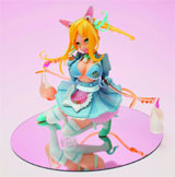 Funny Knights: Rope Skipping Maid Roppu PVC Figure