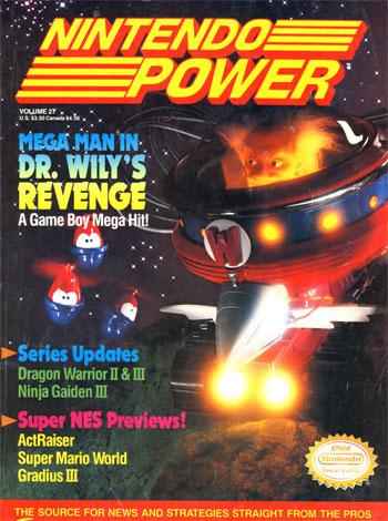 Nintendo Power Volume 27: Mega Man In Dr. Wily's Revenge