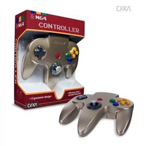 N64 Cirka Controller Gold