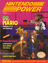 Nintendo Power Volume 18 Dr. Mario