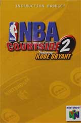 NBA Courtside 2 w/Kobe Bryant (Instruction Manual)
