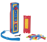 Wii LEGO Blue/Red Play and Build Remote