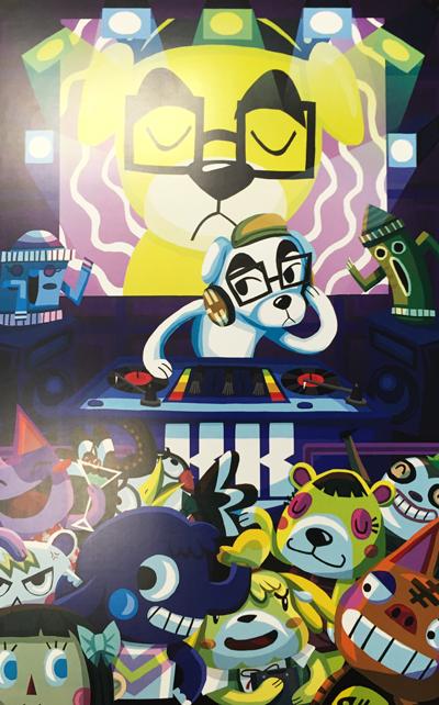 Animal Crossing DJ Digital Print