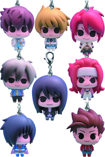 Tales of Vesperia Chara Fortune Charms