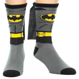 Batman Suit Up Crew Sock with Cape