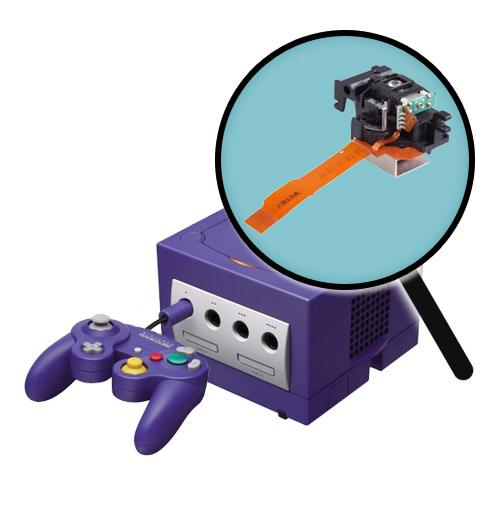GameCube Repairs: Laser Pickup Replacement Service