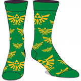 Legend of Zelda Green Crew Socks