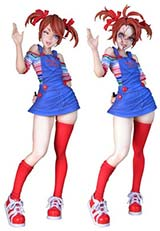 Child's Play Chucky Bishoujo Statue