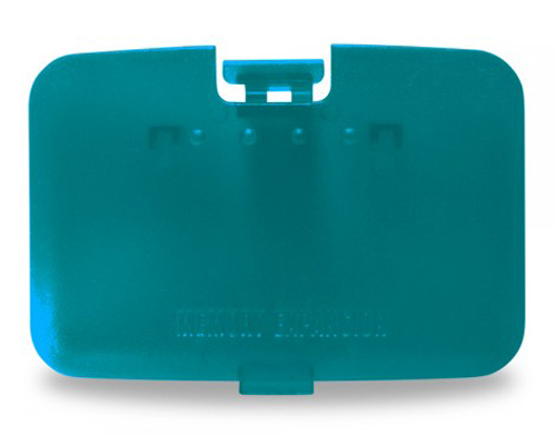 Nintendo 64 Turquoise Top Expansion Slot Cover
