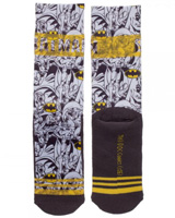 Batman Jrs. Sublimated Crew Socks