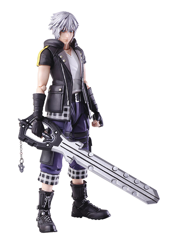 Kingdom Hearts III Bring Arts: Riku Action Figure