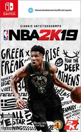 NBA 2K19 (Nintendo Switch) boxart