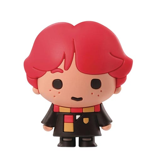 Harry Potter Ron With Scarf 3D Foam Magnet