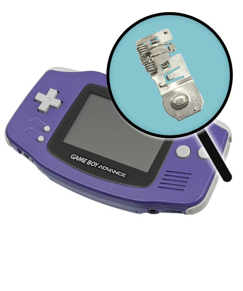 Game Boy Advance Repairs: Battery Contact Replacement Service