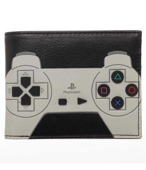PlayStation 3D Rubber Buttons Bi-Fold Wallet