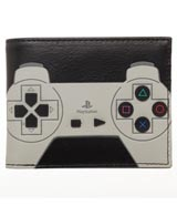 PlayStation 3D Rubber Buttons Bi-Fold Wallet