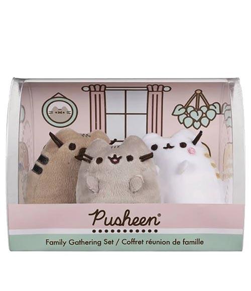 Pusheen Family 3-Piece Collector's Box Set