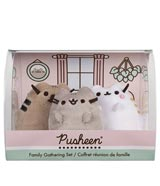 Pusheen Family 3-Piece Collector's Box Set