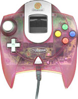 Dreamcast Controller Clear Pink by Sega