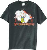 InuYasha Sesshomaru II Black T-Shirt XL