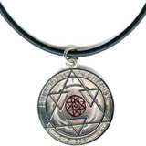 FullMetal Alchemist Alphones Necklace w/ Blood Mark
