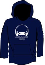 OverClocked Remix Official OCR Logo Hoodie (Large)