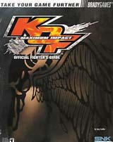 King of Fighters: Maximum Impact Official Strategy Guide Book