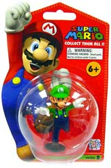 Nintendo 2 Inch Vinyl Figure Luigi