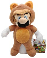 Nintendo Tanooki Suit Mario 8 Inch Plush