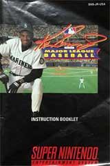 Ken Griffey Jr. Major League Baseball (Instruction Manual)