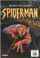Spider-man (Instruction Manual)