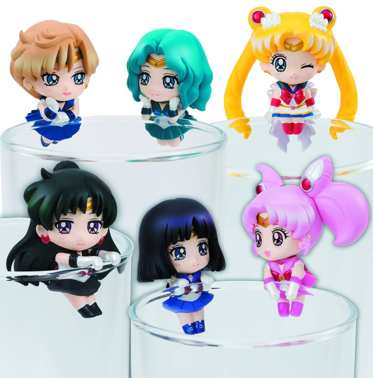 Sailor Moon Ochatomo Cosmic Heart Cafe Mini Figure