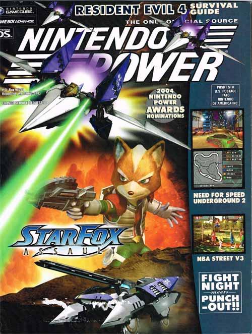 Nintendo Power Volume 189 Star Fox: Assault