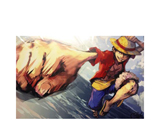 Punching Luffy Digital Print