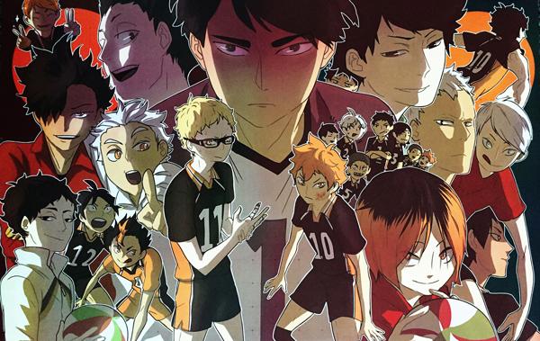 Haikyuu!! Season 2 Cast Digital Print