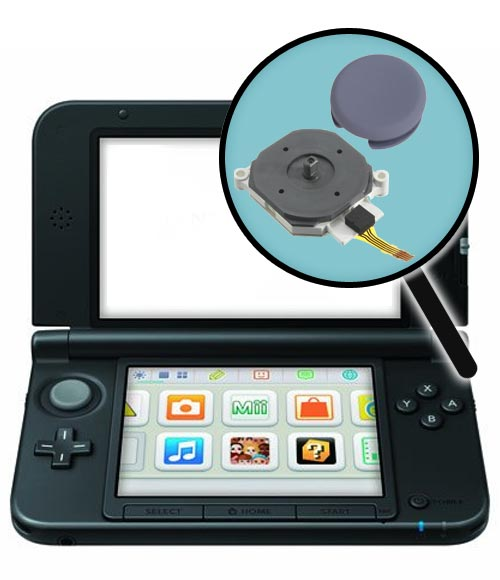 Nintendo 3DS XL Repairs: Analog Stick & Circle Pad Replacement Service