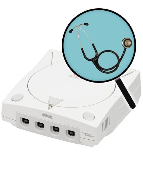 Sega Dreamcast Repairs: Free Diagnostic Service
