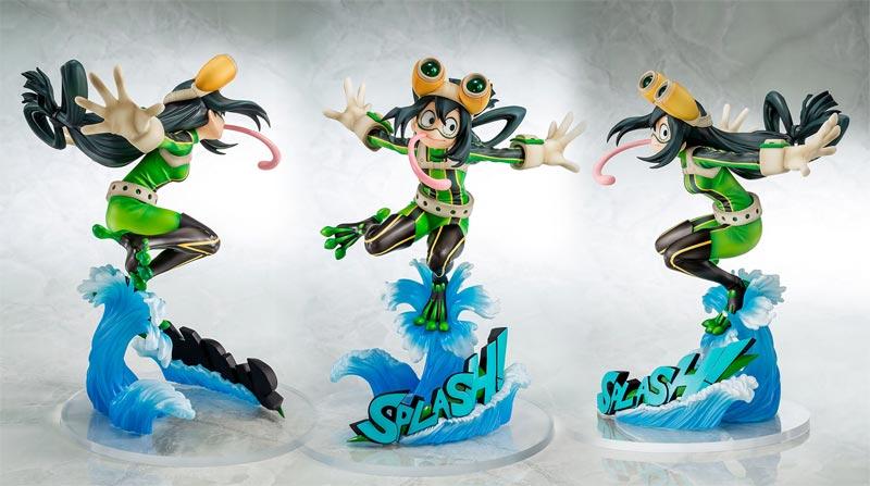 My Hero Academia Tsuyu Asui Hero Suit PVC Figure extra angles