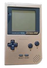 Nintendo Game Boy Pocket Gold Nintendo Power 100 Limited Edition - Refurbished