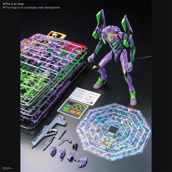 Evangelion 1.0 Unit-01 New Theatrical Edition Model Kit all items