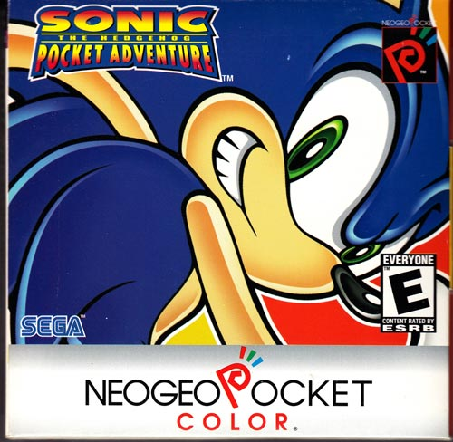 Sonic The Hedgehog: Pocket Adventure NeoGeo Pocket Color