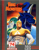 King Of The Monsters 2 Neo Geo AES